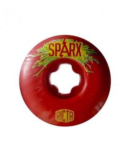 RICTA SPARX SHOCKWAVES RED 52MM 79B