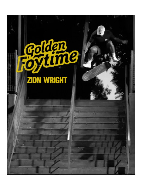 ZION WRIGHT GOLDEN FOYTIME